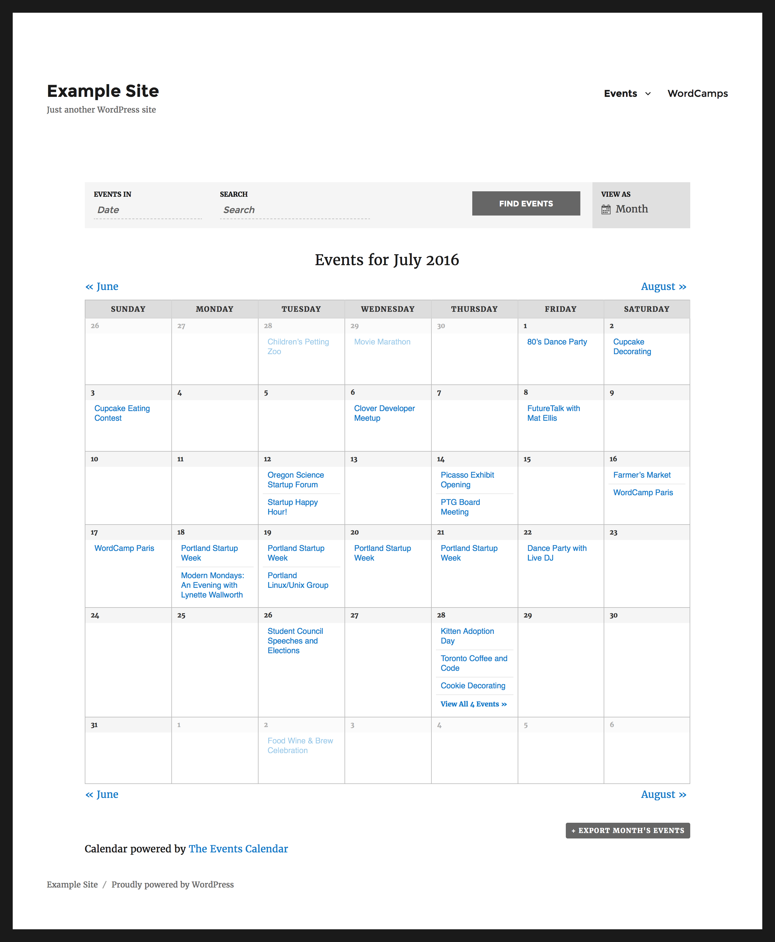 one day event schedule template - 3 great wordpress calendar plugins i t roadmap